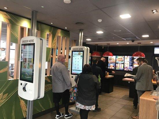 Fraddon, UK: McDonald's