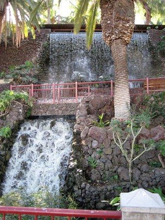 Parque Taoro : Wasserspiele in den Jardines Taoro