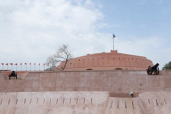 Gobindgarh Fort: Fort during clear skies!