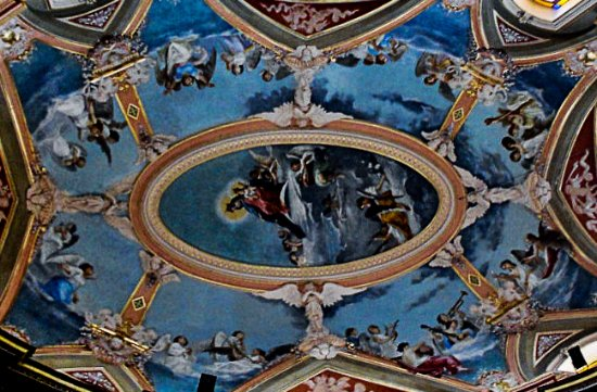Shrine of Our Lady of Mount Carmel: The impressive dome