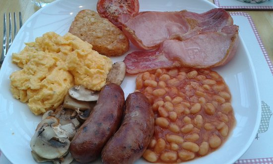 Pewsey, UK: Hearty cooked breakfast