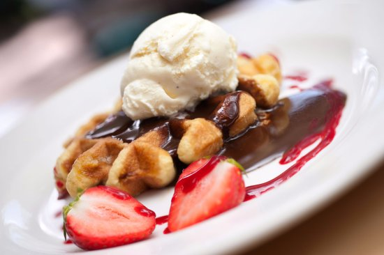 Matfen, UK: Desserts