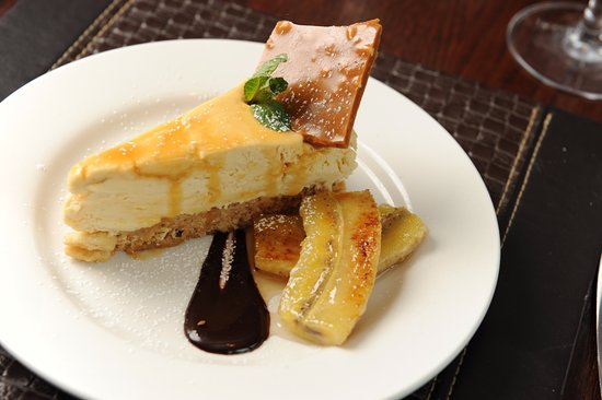Barnham Broom, UK: Salted Caramel Cheesecake