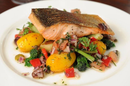 Barnham Broom, UK: Sea Trout
