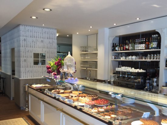 Cafe COEURu0027Chen: Kuchen Theke