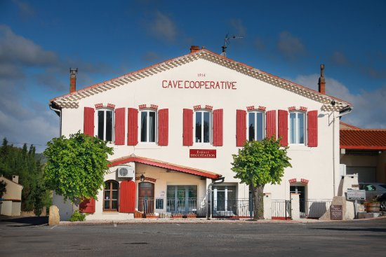 Saint-Laurent-de-la-Cabrerisse, France: La cave Coopérative