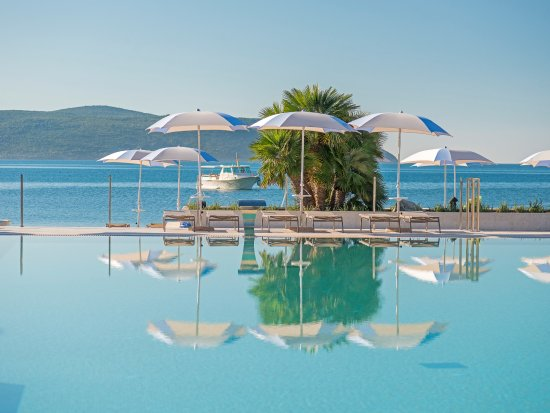 Igalo, Montenegro: Outdoor pool