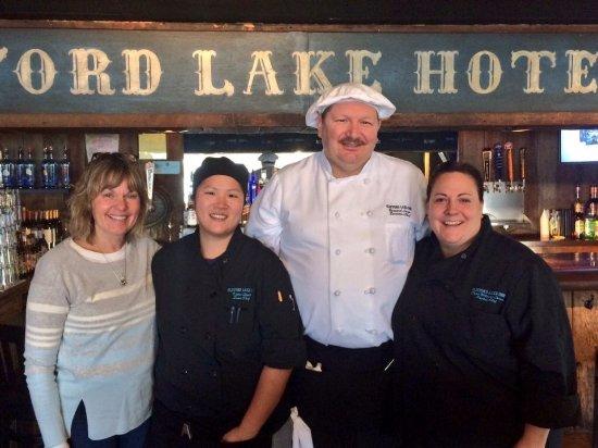 Stanton, MI: Our owners - Mary Stuit, Katie Stuit, Bernard Lucas & Dana Lucas