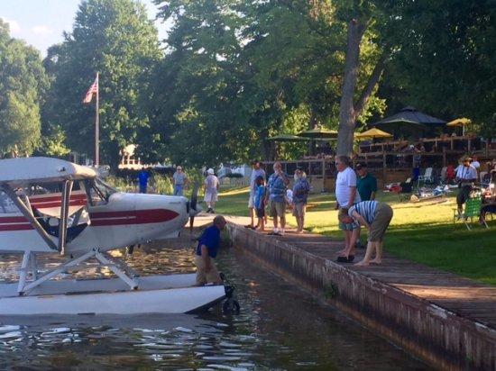 Stanton, MI: sea planes at the Clifford Lake Inn