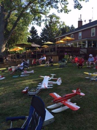 Stanton, MI: Flyers at the Clifford Lake Inn