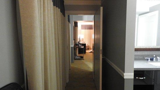 Hotel hallway hook up