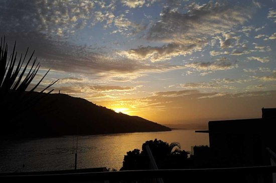Augusta Bay: sunset