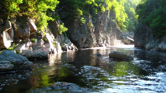 Margaree Forks, Canadá: Cheticamp river 2nd pool, photo by Jimmie Pedersen