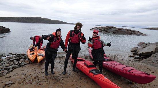 Iqaluit, Canada: Et hop ! Une pause !