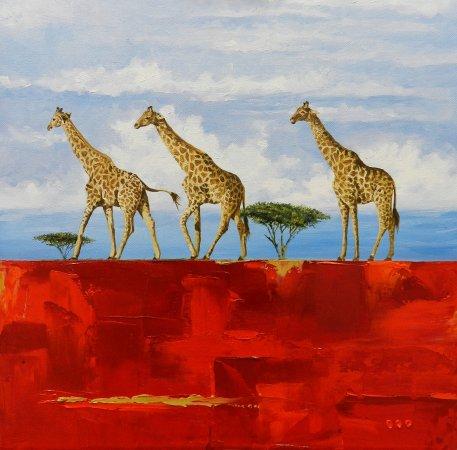 Hermanus, جنوب أفريقيا: Original painted by Ed Bredenkamp. SOLD! Prints available