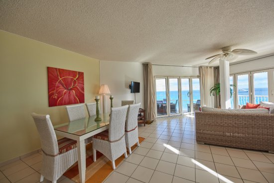 West End Village, Anguila: Oceanfront View from Living Area