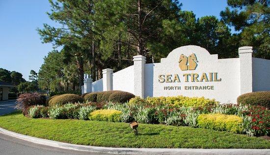 Sunset Beach, Северная Каролина: Sea Trail North Entrance