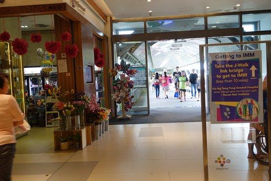 Jurong, Singapur: Flower shop