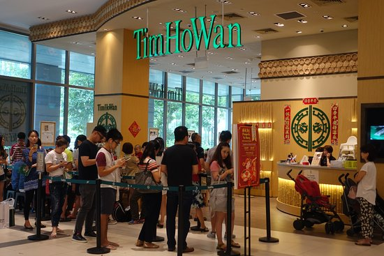 Jurong, Singapur: Chinese new year time lunch queue