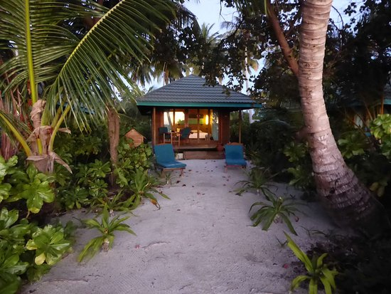 Canareef Resort Maldives: Our Villa