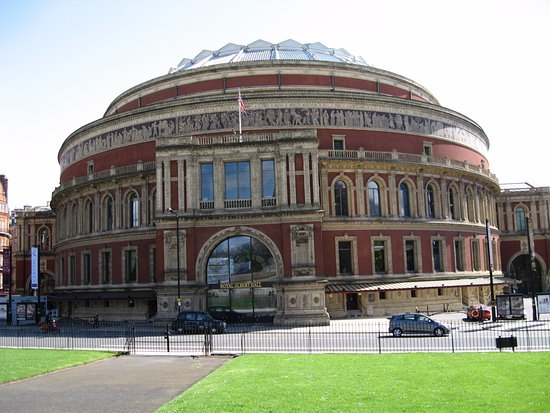 The exterior of the royal albert hall picture of royal for Door 8 albert hall