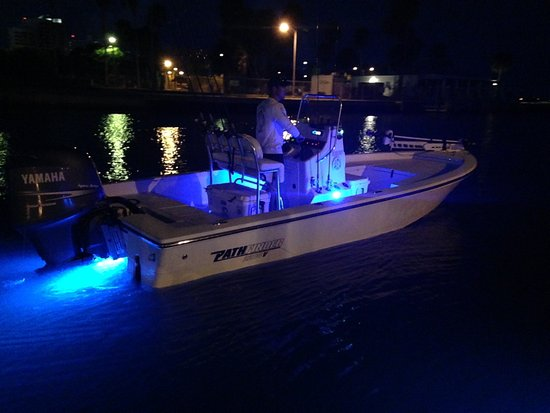 Native Blue Fishing Charters: Beat the heat fish at night!