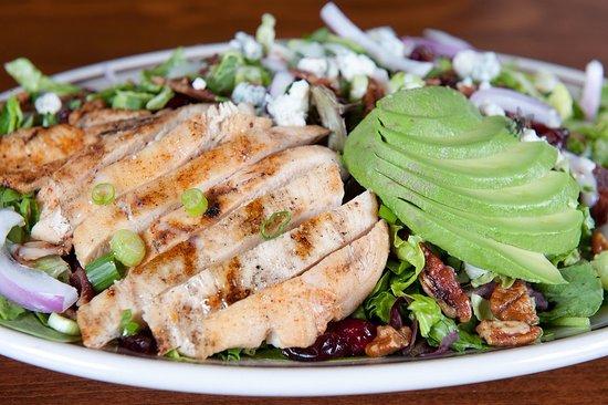 Maplewood, MN: Bourbon Cranberry Salad
