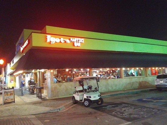 "Lake Worth, FL: Exterior of the ""Martiki Bar""."