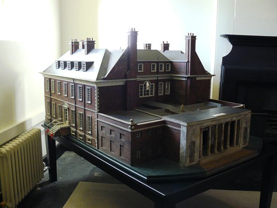 ‪‪South Harting‬, UK: Model of the house.‬