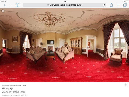 Walworth, UK: The king James suite