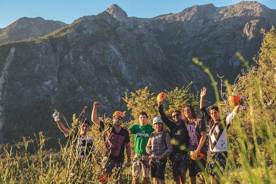 Valle Las Trancas, Chile: ¡Al fin en la cima!