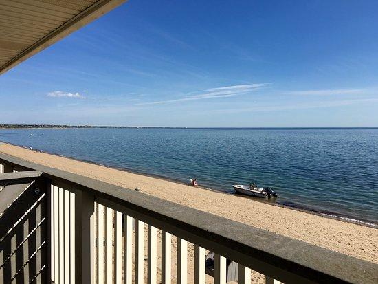 Top Mast Resort: View from Upstairs Beachfront Efficiency