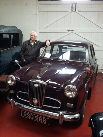 Myreton Motor Museum: I passed my test in 1961 in a Wolseley 1500