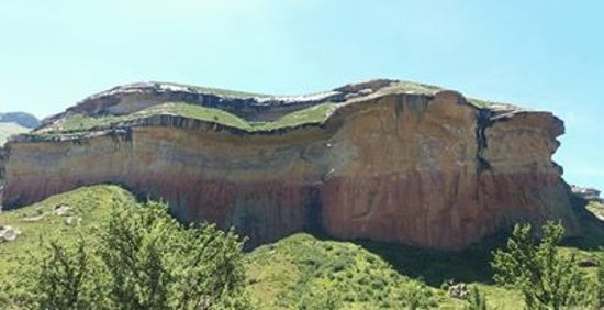Clarens, South Africa: Golden Gate Highlands National Park