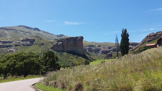 Free State, Sør-Afrika: Golden Gate Highlands National Park