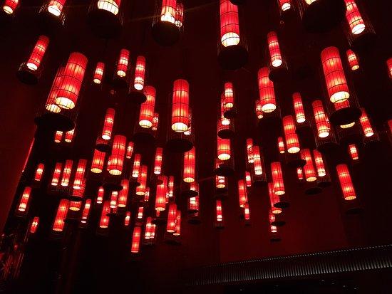 Amazing Lighting Picture Of Tong Thai Dubai Tripadvisor