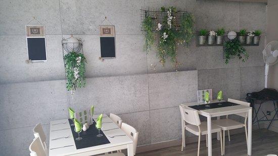 Cabestany, فرنسا: salle du restaurant