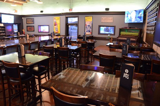 Bradley, IL: High Table Seating in Bar Area