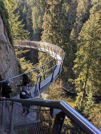North Vancouver, Canadá: edge walk