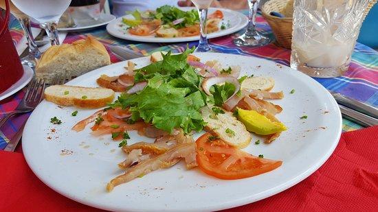 Pignon Nouvelle Vague : Salade marlin fumé extra