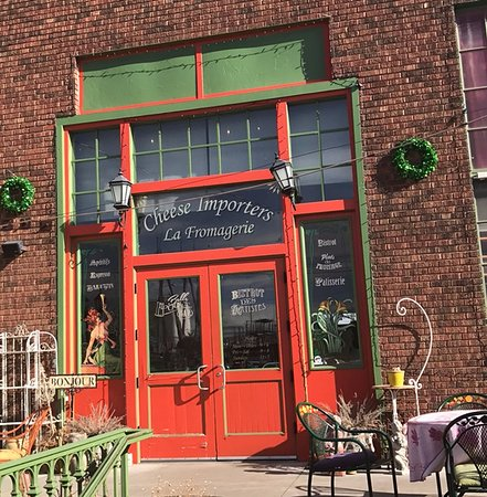 """""""Cheese Importers- La Fromagerie"""" -- Eat inside or outside when the weather is nice!"""