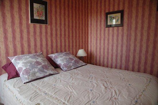 Francueil, Frankrig: Chambre dans l'appartement