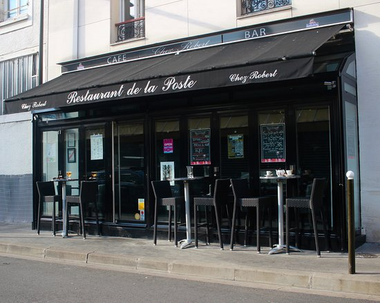 Restaurant de La Poste : La façade du restaurant