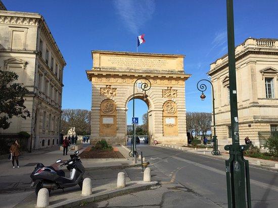 Photo of Monument / Landmark Porte du Peyrou at Rue Foch, Montpellier 34000, France