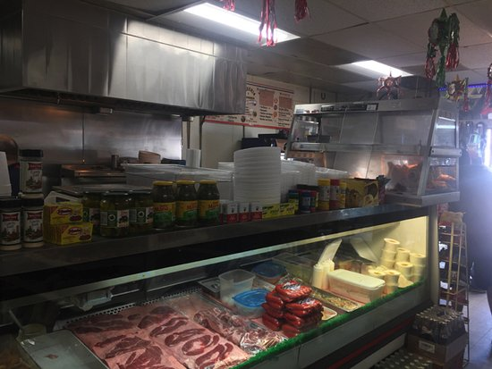 Kettleman City, CA: The meat case