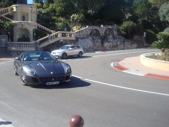 ferrari 599 gtb モンテカルロ fairmont hairpin curveの写真