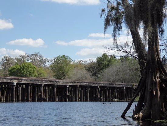 Palmdale, Флорида: Railroad bridge