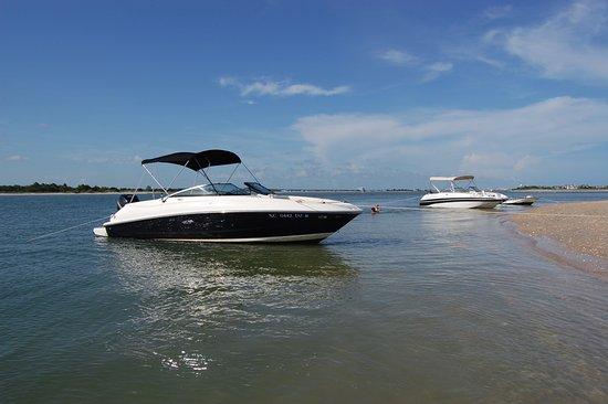 Sea Gate Boating: Beaching at Masonboro Island