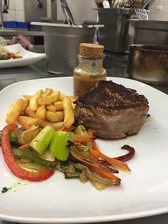 Gamlitz, Austria: Steak:)