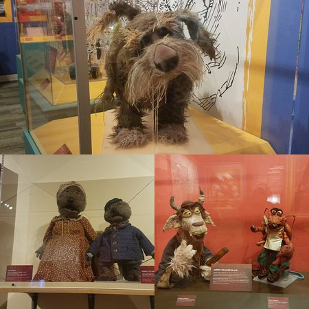 Center for Puppetry Arts : Emmit Otter and friends